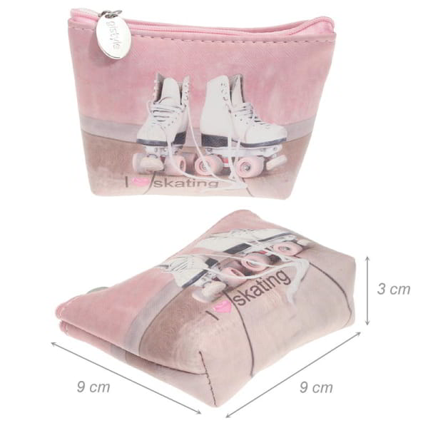 Coin Purse With Roller...