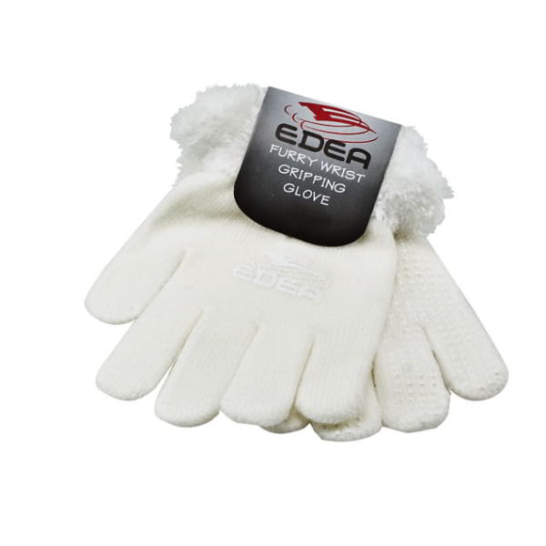 edea furry gloves