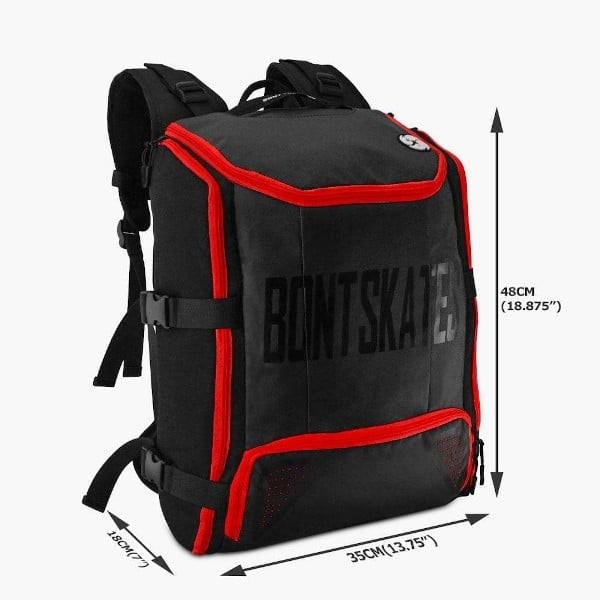 Skate backpack Bont dimensions