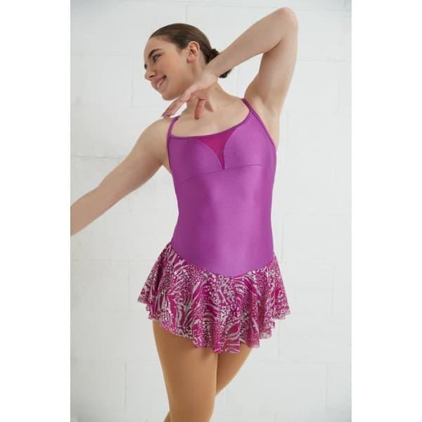 mondor skating dress 673 hibiscus