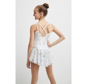 mondor skating dress 672 white back