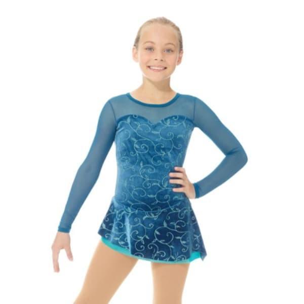 mondor skating dress 12927 - front