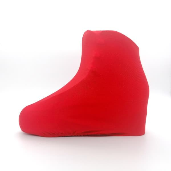 skate boot covers - RDSkates red color