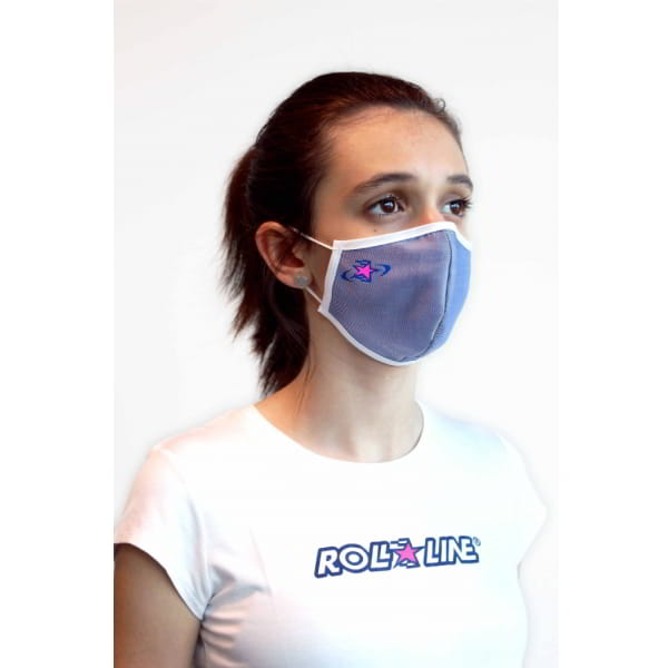 washable face mask white