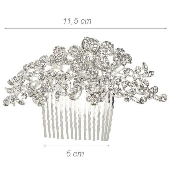 Decorative Comb With Strass...