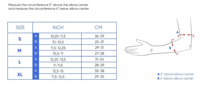 elbow pads size guide ennuj